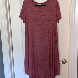 Large LuLaRoe carly dress